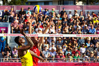 21st Commonwealth Games, Beach Volleyball, Gold Coast, Queensland, Australia - 06 Apr 2018
