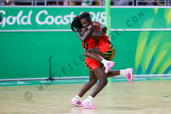 21st Commonwealth Games, Netball, Gold Coast, Queensland, Australia - 08 Apr 2018